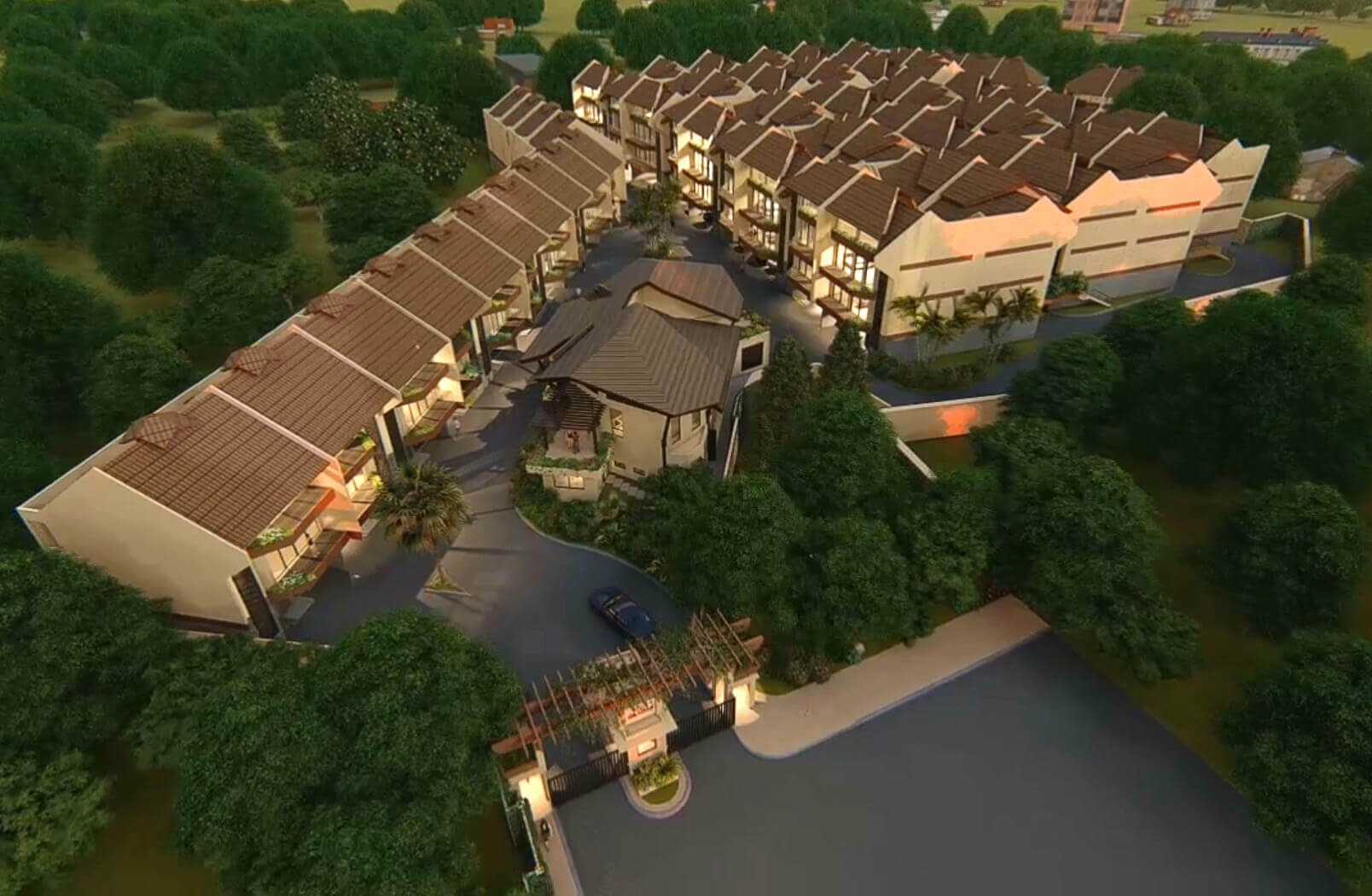Likha Residences Aerial View