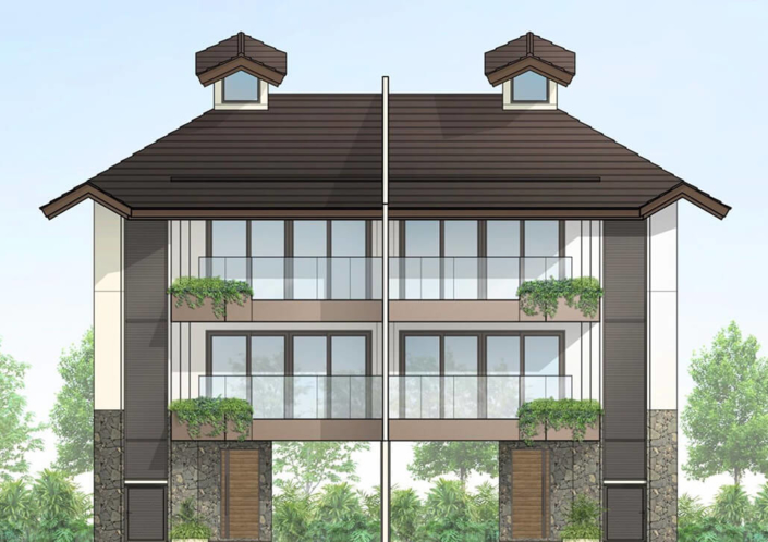 3-Storey Townhomes