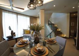 Likha Residences 3-Storey 2F Living and Dining