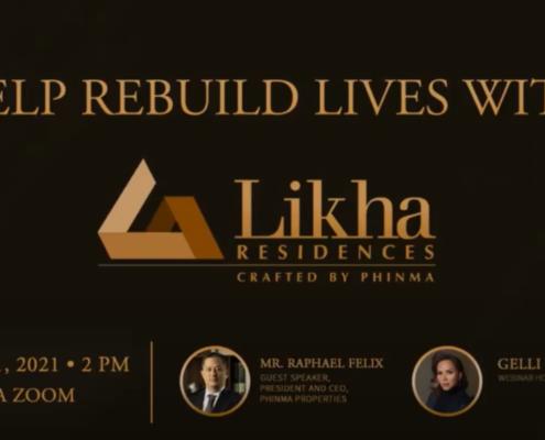 Rebuild Lives with Likha Residences
